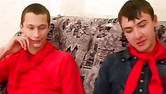 These unknown twinks are going to acquaint for a sex act