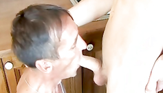 This is my first kitchen sex fornication with a boi