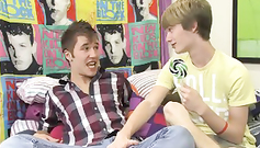 Naughty young gays are sucking dicks in sixty nine pose